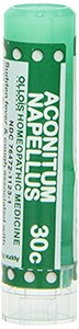 Natural Home Remedy for Sudden Fever and Cough | Aconitum Napellus 30C Homeopathic 80 Pellets (Lactose-Free/Vegan) by Ollois