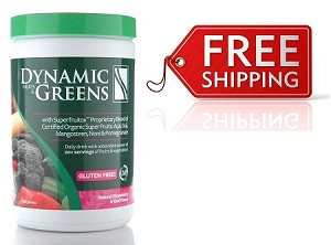 Dynamic Greens Strawberry Kiwi