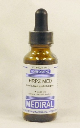 Natural Home Remedy for Cold Sores and Shingles | HRPZ Med Homeopathic