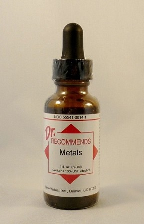 Natural Home Remedy for Metal Sensitivity and Detoxification | Metals Homeopathic
