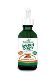 Sweetleaf Stevia Sweet Drops Pumpkin Spice