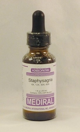 Staphysagria Homeopathic (Genito-urinary remedy)